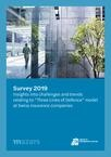 Survey 2019_Insights relating to the 'three lines of defence' model at Swiss insurance companies